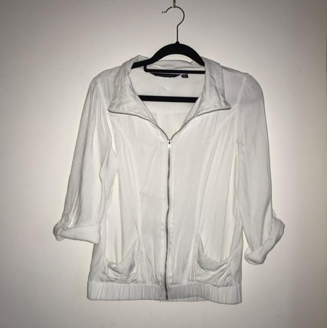 White Summer Jacket