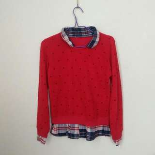 Knitted sweater Merah
