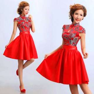 Chinese Cheongsam Modern Dress