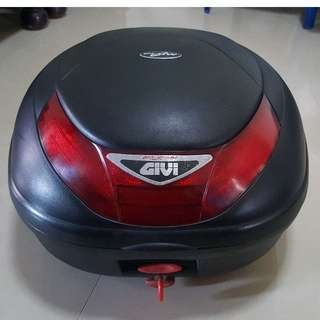 Givi rear box with Base Plate And Metal Sides
