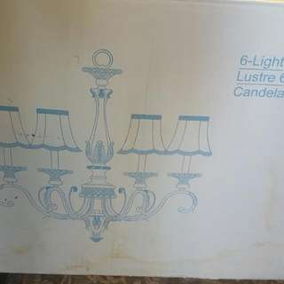 Chandelier  Brand New In Box