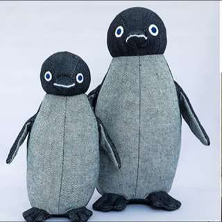 Suica Penguin EDWIN DENIM Edition Plush Toy