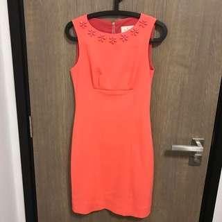 Kate Spade Dress Sunset Pink