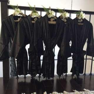 5 Small/medium Bridesmaids Kimono Robes