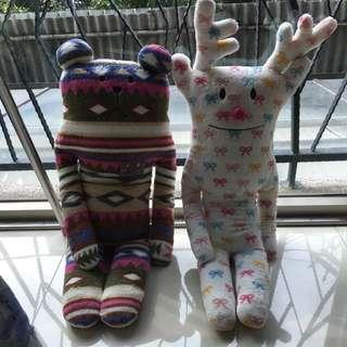 🎀日本 正品宇宙人 最大號娃娃 酋長 聖誕麋鹿款