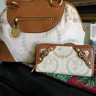 Juicy Couture bag & wallet