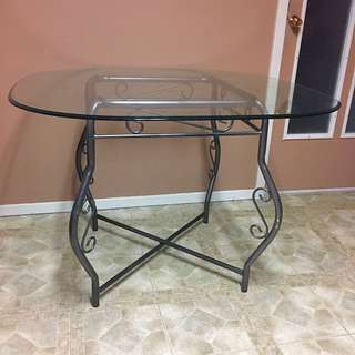 Small Glass Dining Table