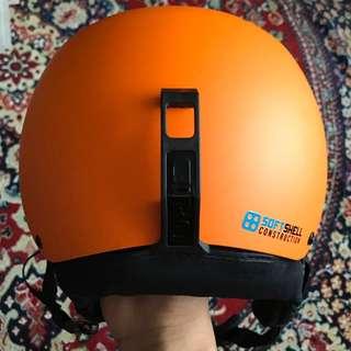 Giro Orange Soft shell construction Helmet size M