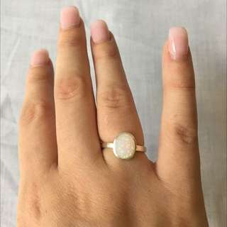 Opal Style Ring. Not Real Opal.