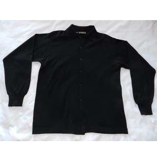 Zara Classic Black Button Up [Large]
