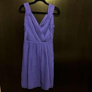 Purple Banana Republic Dress (Size 8)