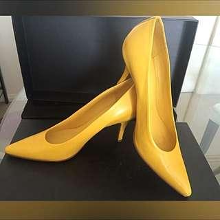 90%new Veronique Banquinno Italy - Signature Yellow Heels