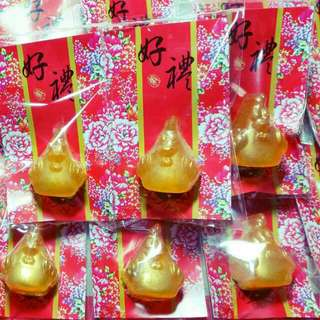 新年中國風純手工上金禮皂  香皂