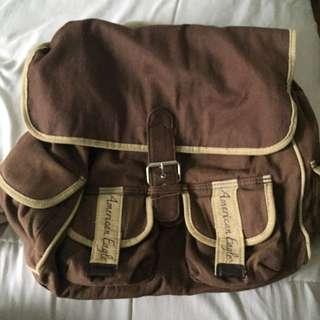 Brown and Tan American Eagle™ Bag