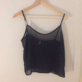 American Apparel Sheer Tank Top