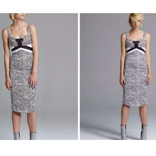 MANNING CARTELL Triangularity Column Dress .. Size 6 / Brand New