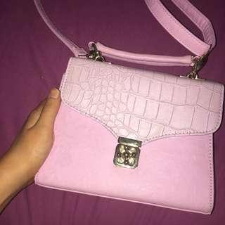 Pink Colette Hayman Clutch