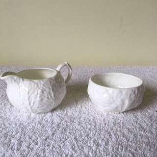 Coalport Bone China Sugar And Cream Set