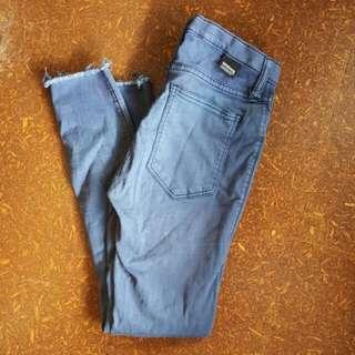 Ladies Dr Denim Jeansmakers Blue Jeans Size 25