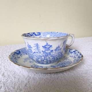 "Antique ""Pekin"" Pattern Thomas Webb"