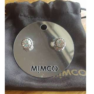 Mimco Claw Jewel Stud Earrings