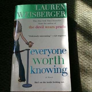 Laura Weisberger Book