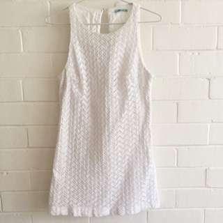 Kookai Herringbone Dress