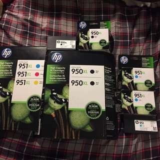 HP 950/951 Unused Ink