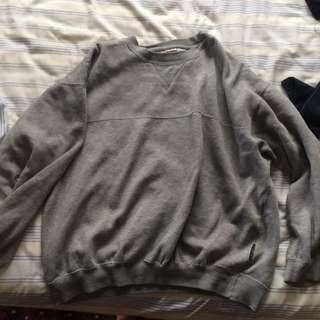 Plain Grey Jumper - Stubbies
