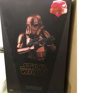 Hot Toys Star Wars Stormtrooper Copper Chrome Edition