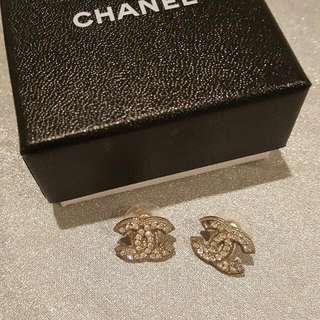 Genuine CHANEL earrings
