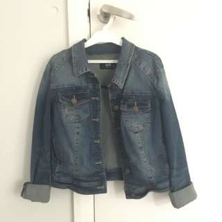 Dotti Vintage Style Denim Jacket