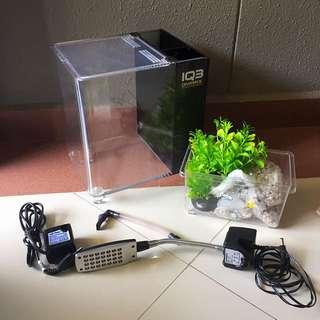 Mini Acrylic Aquarium Fish Tank