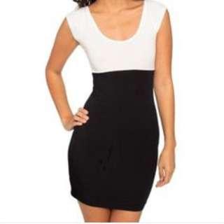 American Apparel Two Tone Dress Medium