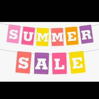 Summer Sale On All Fashion Items!! 🤗