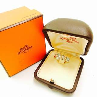 Authentic Hermes Ring Size 7