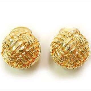 Genuine Celine Clip Earrings