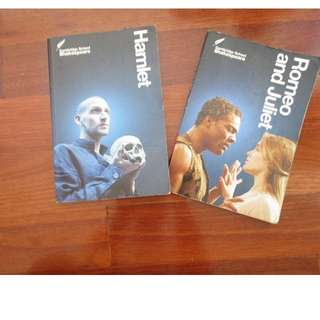 (PRICE FOR BOTH) HAMLET AND ROMEO&JULIET