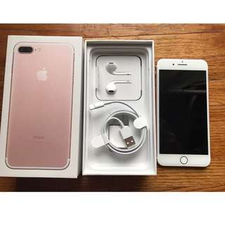 NO.2 Iphone7 Plus 128g Rose gold almost new box