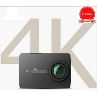 Yi 4k Action Camera (White) with Memory Card 64gb
