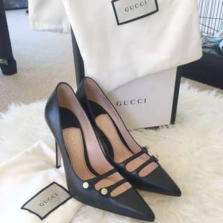 Authentic Gucci Leather Pumps