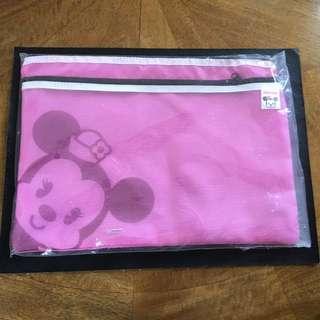 Pink Mini Mouse Pencil Case