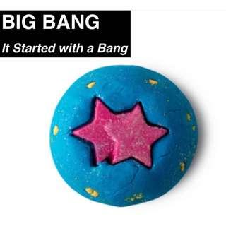 PENDING⭐️SALE⭐️NEW Lush Bath Bomb - Big Bang 100g