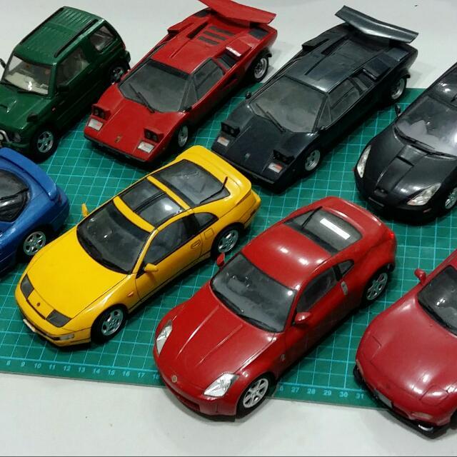 1:24 Motor Car Series From Tamiya ...$10 Each