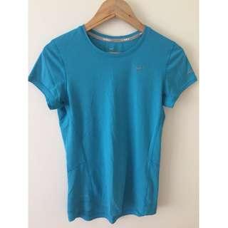 Nike Dri Fit blue t-shirt - Small