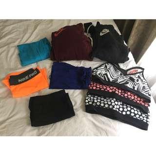 Nike Bulk lot womens clothes - Extra Small, Small, Medium