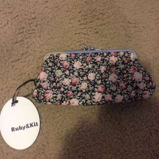 Floral Wallet Brand New