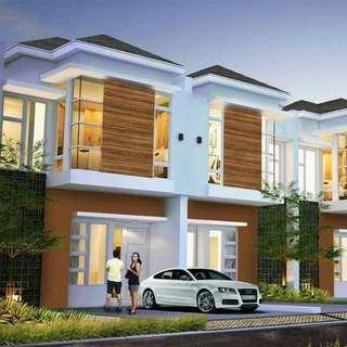 Rumah Minimalis Tampak Depan 2 Lantai Di Pamulang