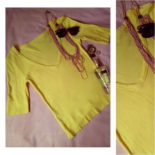 #AllForFree Unbranded Yellow Top