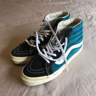 VANS Old School High Top Shoes Size 7